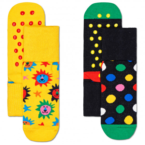 Kid's Lion Anti Slip 2-Pack - Sports socks