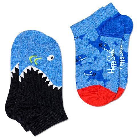 Kid's Shark Low Sock 2-Pack - Sports socks