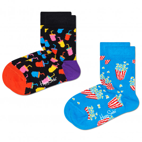 Happy Socks - Kid's Snack Sock 2-Pack - Multifunktionssocken