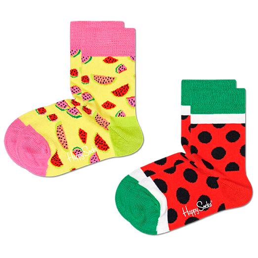 Kid's Watermelon Sock 2-Pack - Sports socks