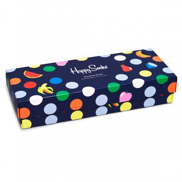 Happy Socks - Navy Socks Gift Set 4-Pack - Calcetines multifuncionales