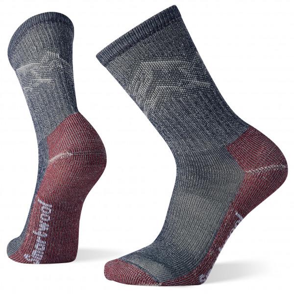 Classic Hike Light Cushion Mountain Pattern Crew - Walking socks