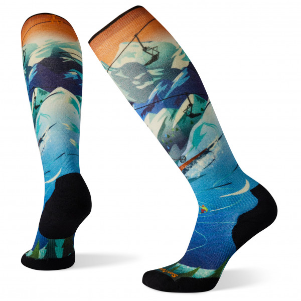 Smartwool - Women's Performance Ski Targeted Cushion Lift Bunny OTC - Ski socks