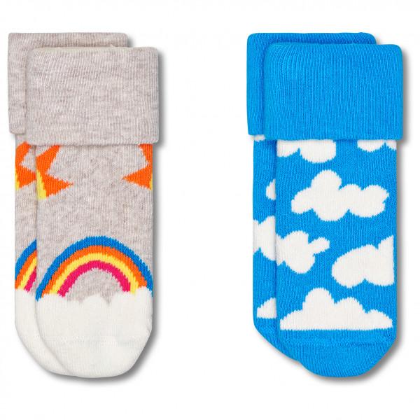 Kid's After Sun Terry Socks 2-Pack - Sports socks