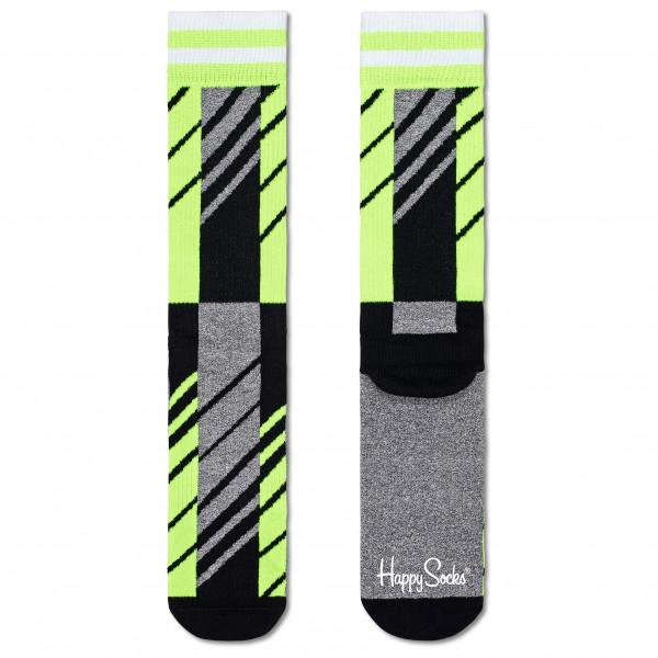 Scattered Stripe Crew Sock - Sports socks