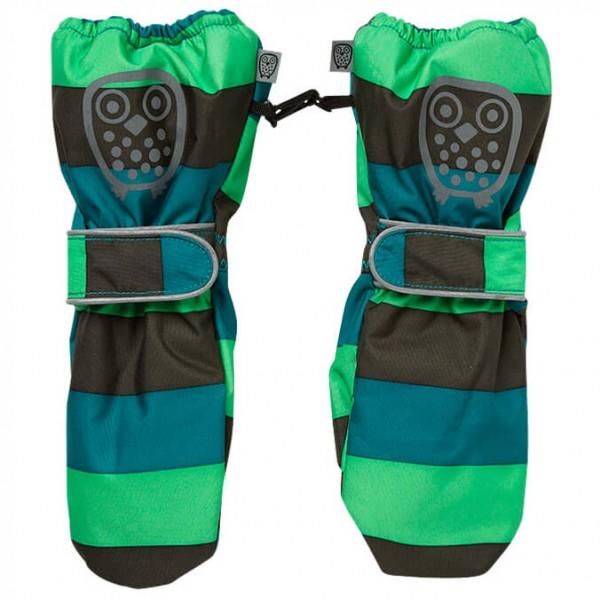Ej Sikke Lej - Kid's Striped Outerwear Mittens - Käsineet