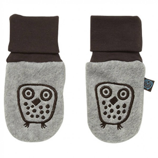 Ej Sikke Lej - Kid's Owl Fleece Mittens - Käsineet