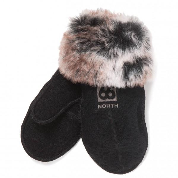 66 North - Kaldi Arctic Mittens W/Fur - Handschuhe