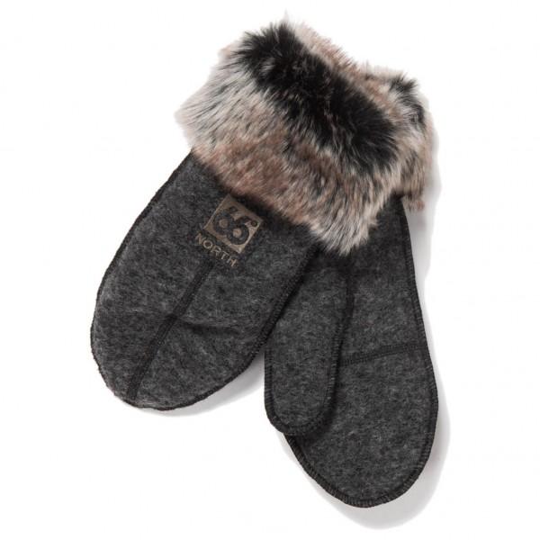 66 North - Kaldi Arctic Mittens W/Fur - Gants