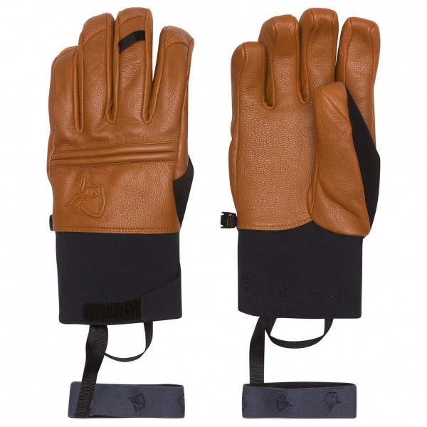 Norrøna - Røldal Dri Primaloft Short Leather Gloves