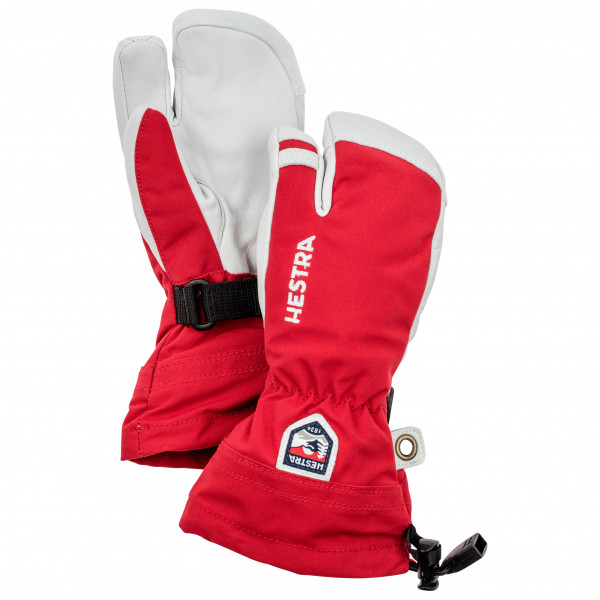 Hestra - Kid's Army Leather Heli Ski 3 Finger - Käsineet