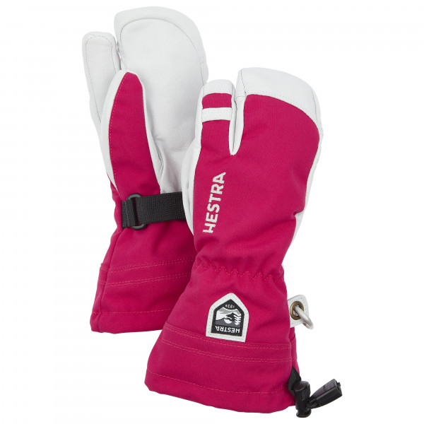Hestra - Kid's Army Leather Heli Ski 3 Finger - Gants