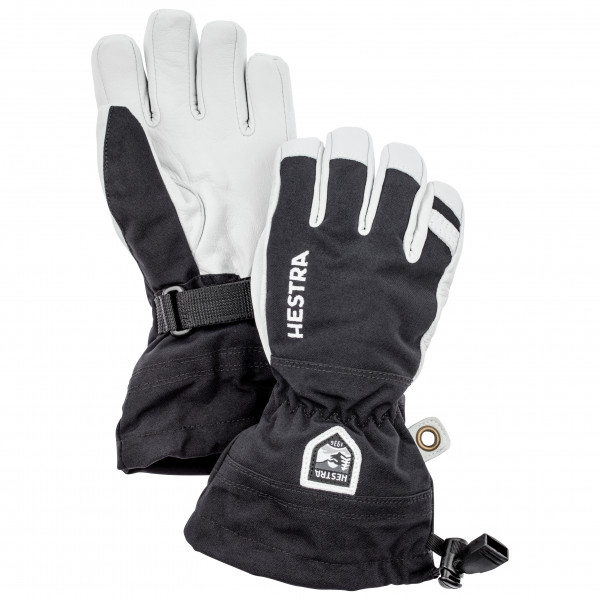 Hestra - Kid's Army Leather Heli Ski 5 Finger - Gants