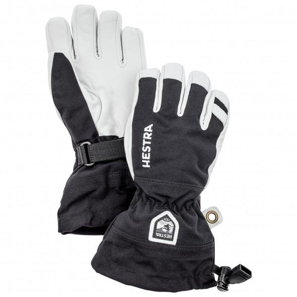 Hestra - Kid's Army Leather Heli Ski 5 Finger - Käsineet