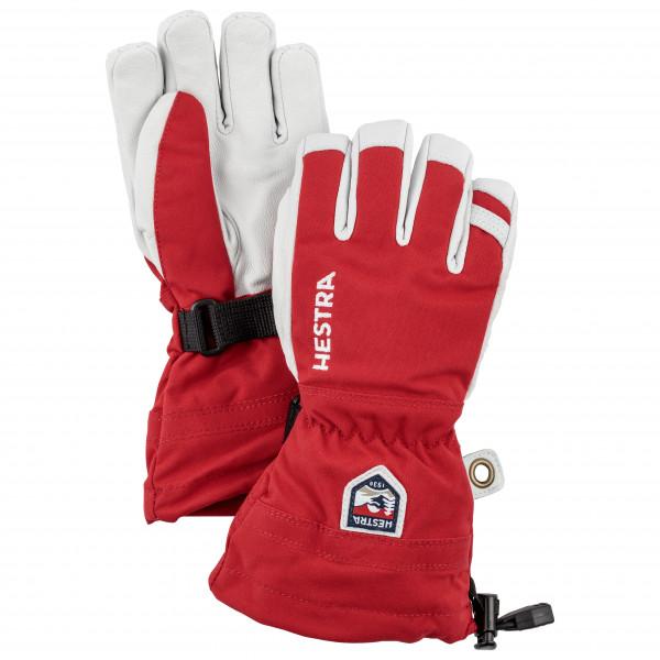 Hestra - Kid's Army Leather Heli Ski 5 Finger - Gloves