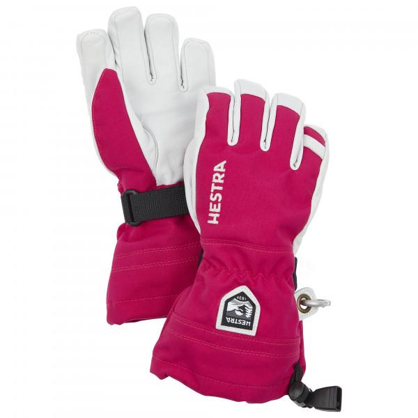 Hestra - Kid's Army Leather Heli Ski 5 Finger - Handschuhe