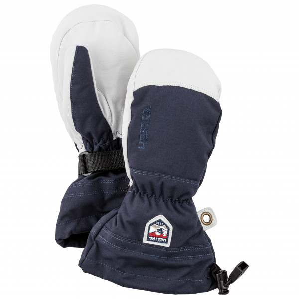 Hestra - Kid's Army Leather Heli Ski Mitt - Käsineet