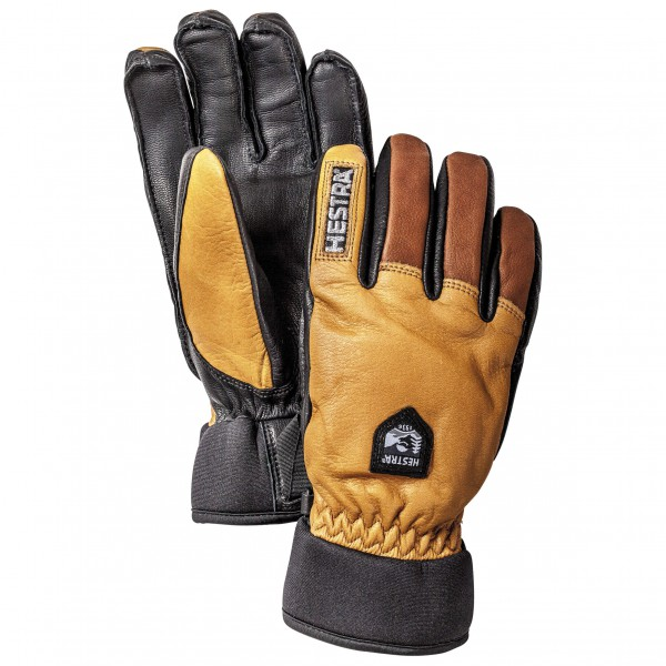 Hestra - Army Leather Wool Terry 5 Finger - Handsker