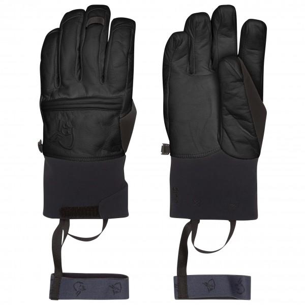 Norrøna - Røldal Dri Primaloft Short Leather Gloves - Käsineet