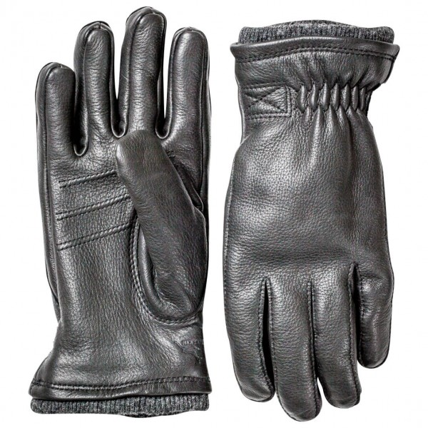 Hestra - Deerskin Swisswool Rib Cuff - Handschuhe