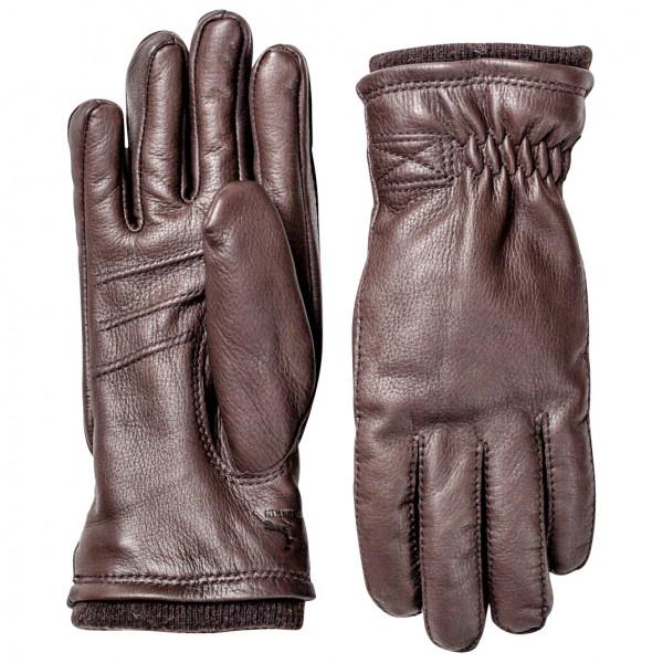 Hestra - Deerskin Swisswool Rib Cuff - Handschoenen