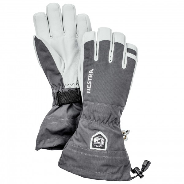 Army Leather Heli Ski 5 Finger - Gloves