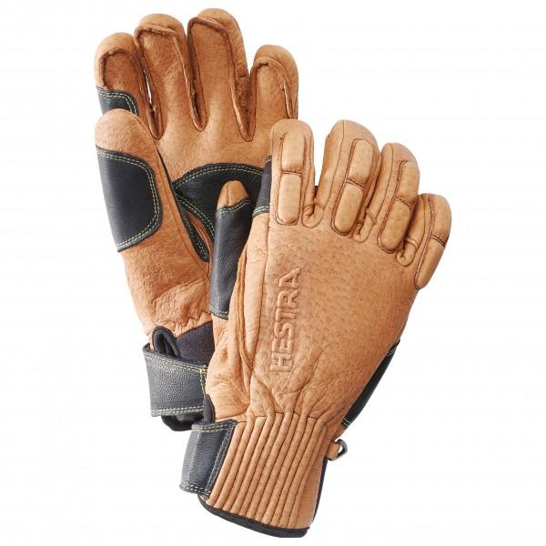 Hestra - Peccary Ski de Cuir 5 Finger - Handsker