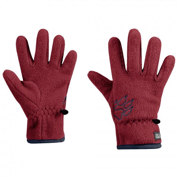 Jack Wolfskin - Boy'saksmalla Fleece Glove - Handskar