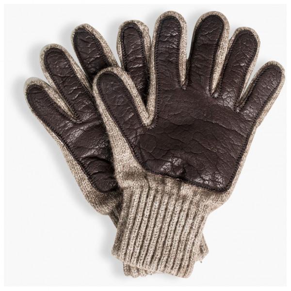 United By Blue - Leather Palm Bison Gloves - Handsker