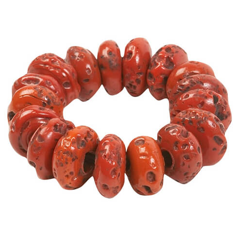 Prana - Large Glass Bead Bracelet