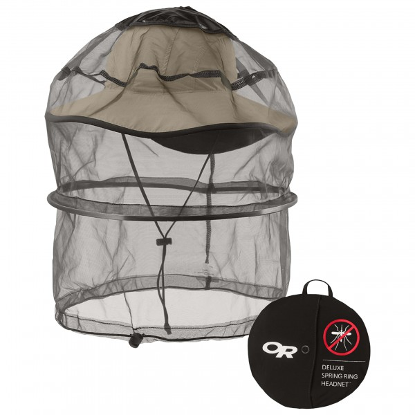 Outdoor Research - Spring Ring Headnet DLX - Mosquitera