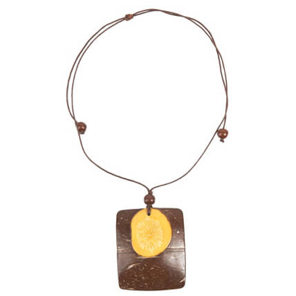 Prana - Coconut Tagua Necklace - Organic