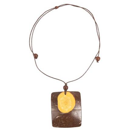 Prana - Coconut Tagua Necklace - Organic