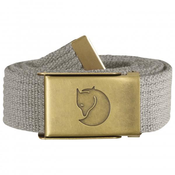 Fjällräven - Women's Canvas Brass Belt 3 cm - Belt