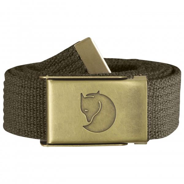 Fjällräven - Canvas Brass Belt 3 cm - Belter
