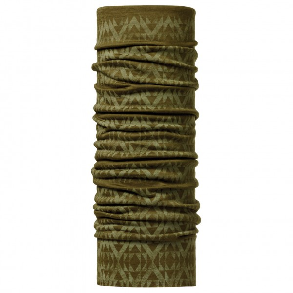 Buff - Merino Wool Patterned Buff