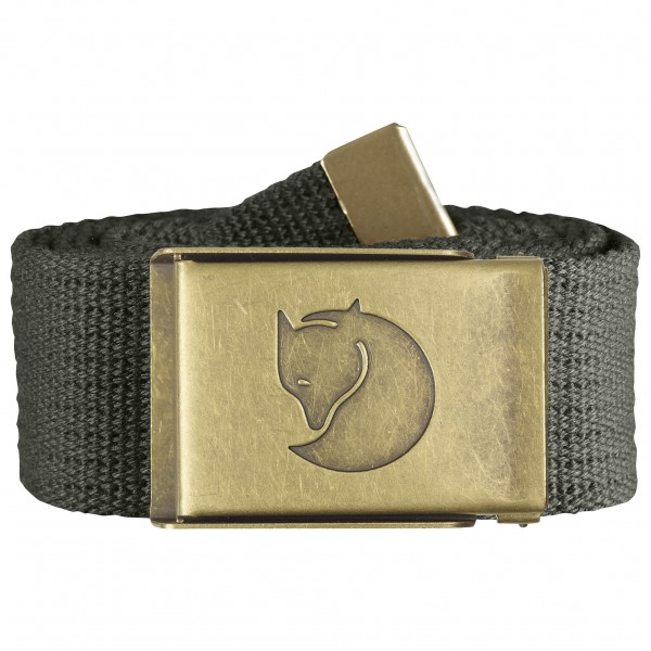 Fjällräven - Canvas Brass Belt 4 cm - Ceinture
