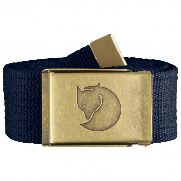 Fjällräven - Canvas Brass Belt 4 cm - Belter