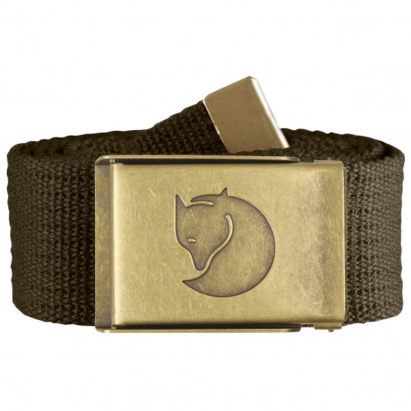 Fjällräven - Canvas Brass Belt 4 cm - Riemen