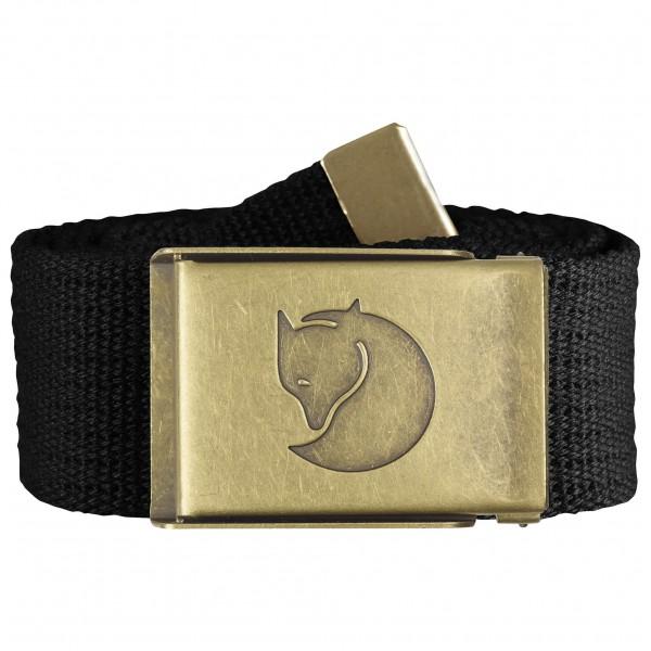 Fjällräven - Canvas Brass Belt 4 cm - Gordel
