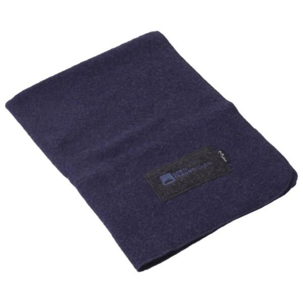 Mufflon - Samson Bergfreundchen Logo - Wool blanket
