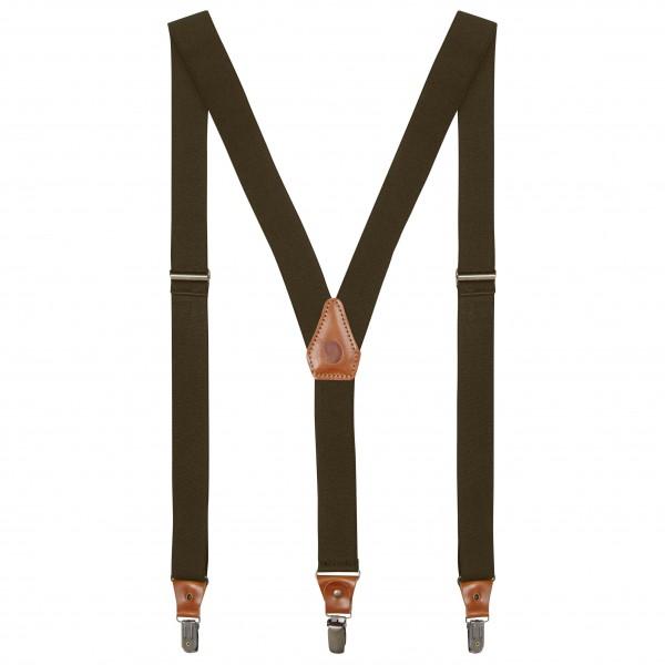Fjällräven - Singi Leather Clip Suspenders - Hängslen - Bälten