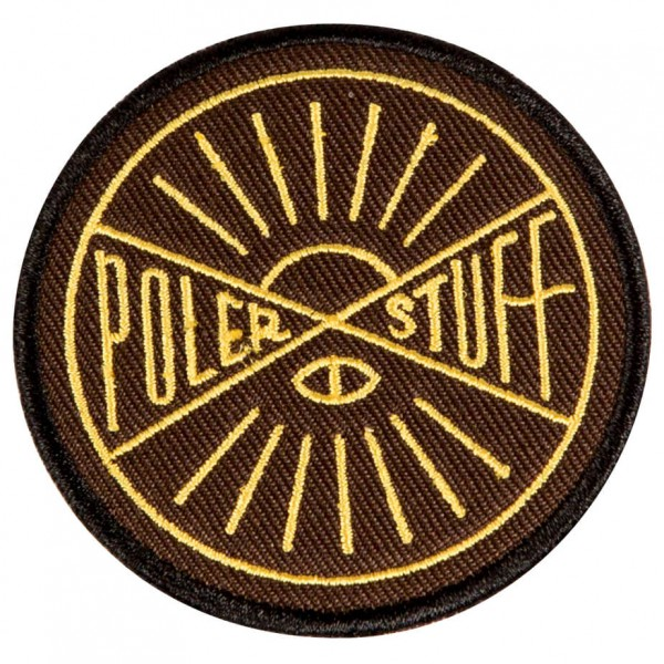 Poler - Hemisphere Iron-On Patches