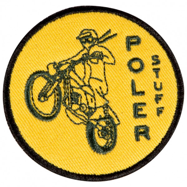 Poler - Moto 1 Iron-On Patches