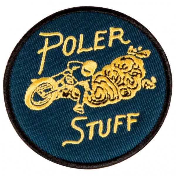 Poler - Moto 2 Iron-On Patches