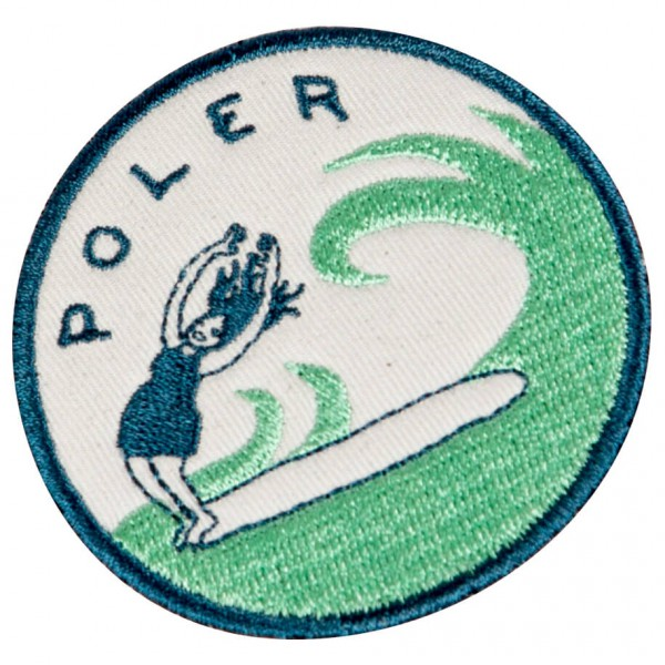 Poler - Surf 2 Iron-On Patches