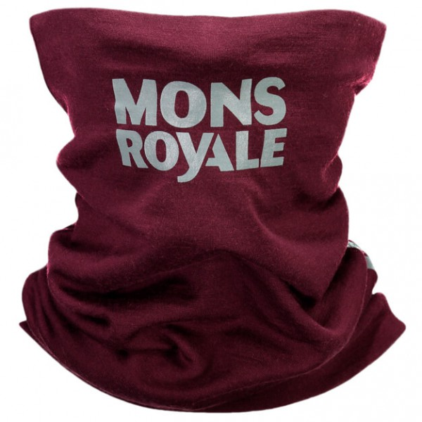 Mons Royale - Double Up Neckwarmer Vert - Neck warmer