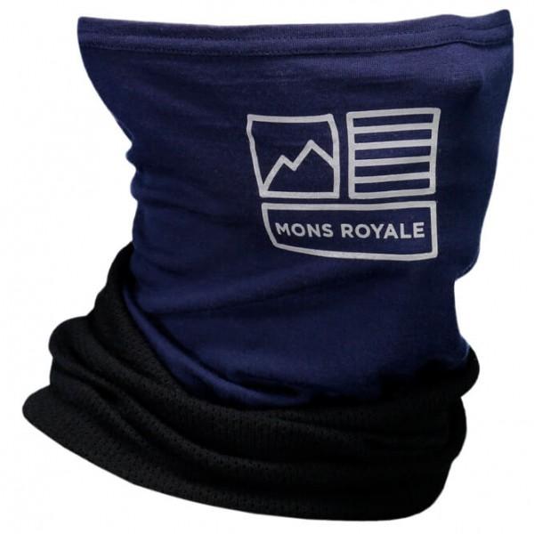 Mons Royale - Fifty-Fifty Mesh Neckwarmer Geo - Tørklæde