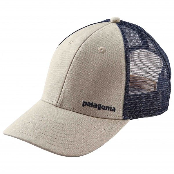 Patagonia - Small Text Logo Lopro Trucker Hat - Keps