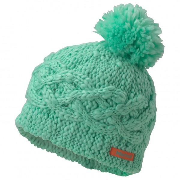 Marmot - Girl's Chunky Pom Hat - Knitted beanie